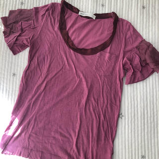 サカイラック(sacai luck)の★値下げしました❗️sacai luck/サカイラック ピンクTシャツ(Tシャツ(半袖/袖なし))
