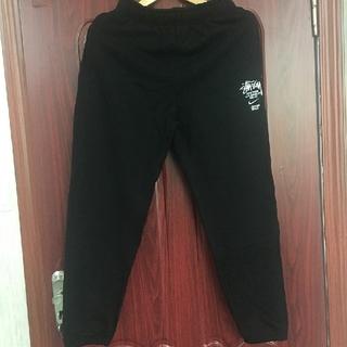STUSSY - Stussy × Nike Fleece Pants Black