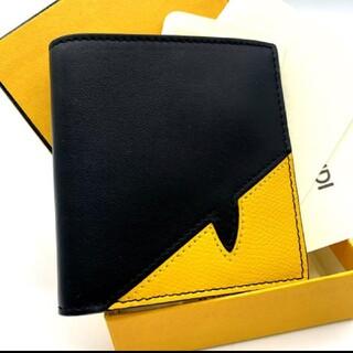 フェンディ(FENDI)の展示未使用品✨鑑定済✨FENDI フェンディ モンスター 折り財布 札入れ ✨(折り財布)