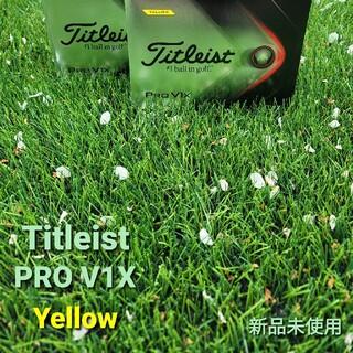 タイトリスト(Titleist)のタイトリストPROV1X  イエロー 2ダース(ゴルフ)