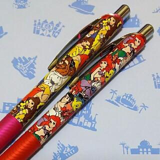Disney - ディズニー リゾート プリンセス ゲルインキ ボールペン 2本セット①