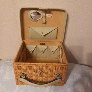 フォクシー(FOXEY)のイタリア製フォクシーバスケットの名品 ミントカラー(かごバッグ/ストローバッグ)
