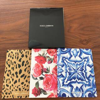 ドルチェアンドガッバーナ(DOLCE&GABBANA)のDolce&Gabbana ドルチェ&ガッバーナ  ノベルティ ノート(ノート/メモ帳/ふせん)