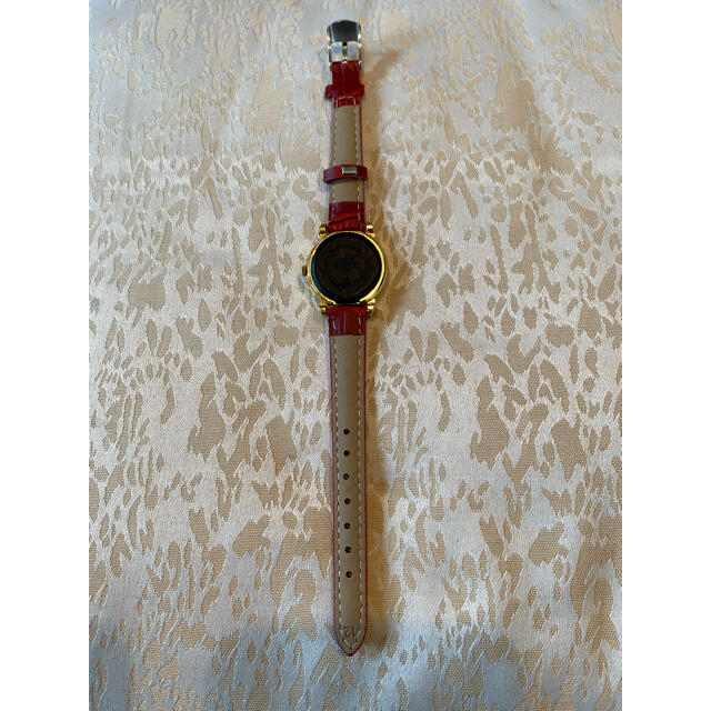 ALBA(アルバ)の【ゴールドでキラキラ】ミッキー腕時計 シチズン アルバ 日本製 レディースのファッション小物(腕時計)の商品写真