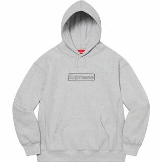シュプリーム(Supreme)のSupreme x kaws Chalk Logo hooded(パーカー)