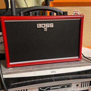 ボス(BOSS)のBOSS KATANA-MINI RED IKEBE ORIGINAL ボス(ギターアンプ)