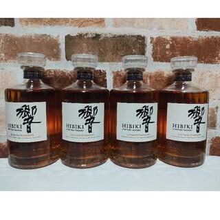 サントリー(サントリー)の響 ウイスキー NA サントリー 4本セット JAPANESE HARMONY(ウイスキー)