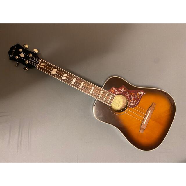Epiphone(エピフォン)のEPIPHONE hummingbirdウクレレ ケース付き 楽器のウクレレ(その他)の商品写真