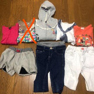 グローバルワーク(GLOBAL WORK)の値下げ!!女の子用 110サイズ 子供服まとめ売り(Tシャツ/カットソー)