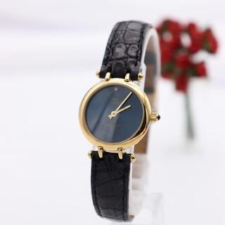 ジバンシィ(GIVENCHY)の正規品【新品電池】GIVENCHY/PARIS 腕時計 動作品 ダイヤ1P(腕時計)