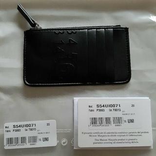 エムエムシックス(MM6)の【ha様専用】MM6 エムエム6  メゾンマルジェラカードケースブラック(財布)