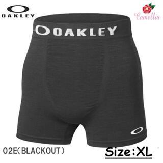 オークリー(Oakley)の新品 OAKLEY オークリー ボクサーパンツ XLサイズ BK(ボクサーパンツ)
