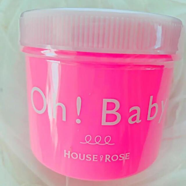 HOUSE OF ROSE(ハウスオブローゼ)のハウスオブ ローゼ♡限定♡サクラ♡Oh!Baby350g コスメ/美容のボディケア(ボディスクラブ)の商品写真