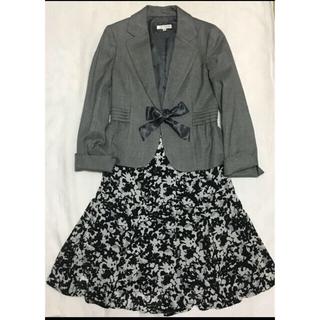 エニィファム(anyFAM)のエニィファム フォーマル  スーツ上下 入学式 美品(スーツ)