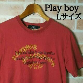 プレイボーイ(PLAYBOY)のPlay boy プレイボーイ半袖Tシャツ 夏物 カットソー Lサイズ‼(Tシャツ/カットソー(半袖/袖なし))