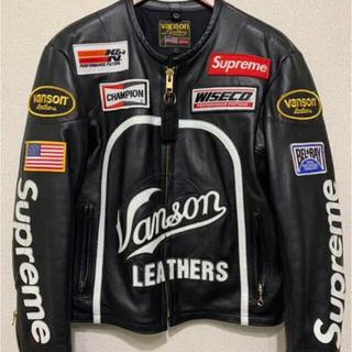 Supreme - 国内正規品 17ss supreme vanson black S バンソン 黒