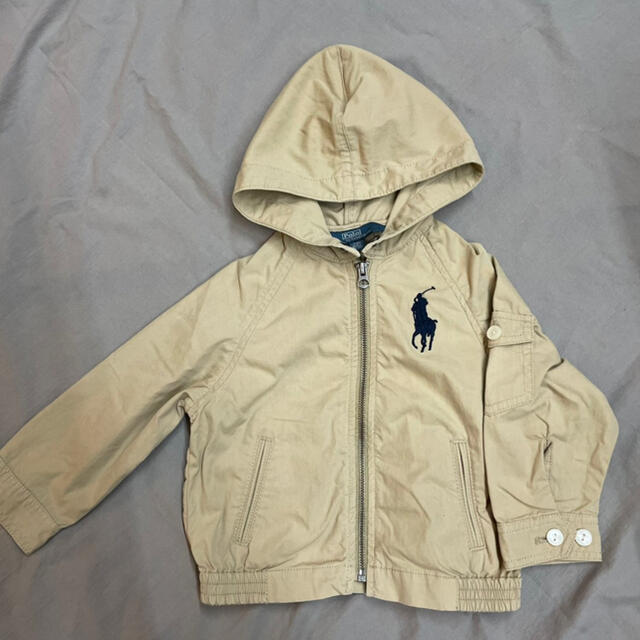 POLO RALPH LAUREN(ポロラルフローレン)のPOLO by Ralph Lauren フード付きジャケット 90サイズ キッズ/ベビー/マタニティのキッズ服男の子用(90cm~)(ジャケット/上着)の商品写真