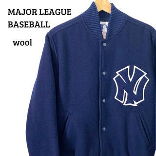 Santa Monica - USA古着 MLB New York Yankees スタジャンジャケットM
