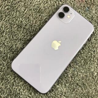 アップル(Apple)のりんこ様専用★iPhone 11 64 au パープル(スマートフォン本体)