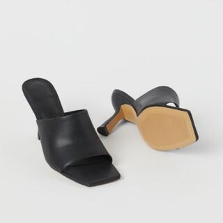 エイチアンドエム(H&M)の【完売品】H&Mミュール36新品タグ付き(ミュール)