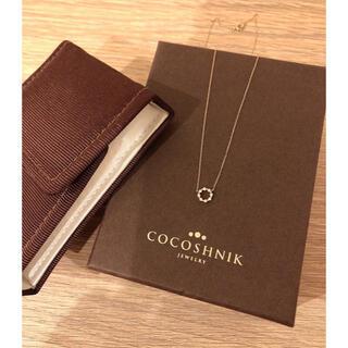 ココシュニック(COCOSHNIK)のCOCOSHNIK ダイヤモンドネックレス(ネックレス)