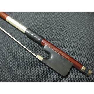 【未使用品】 アメリカ製 W.R.Schuster チェロ弓 4/4(チェロ)