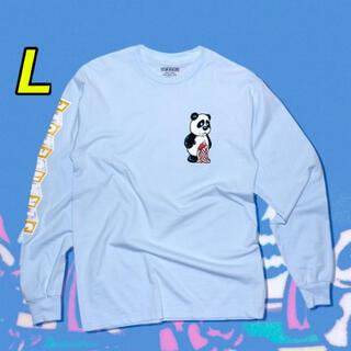 STRANGE SKATEBOARDS PANDA L/S TEE(Tシャツ/カットソー(七分/長袖))