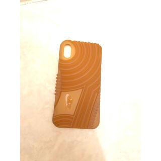 ナイキ(NIKE)のNIKE AF1 AIRFORCE1スマホケース iPhoneX/XS 美品(iPhoneケース)
