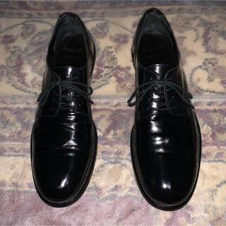 ヨウジヤマモト(Yohji Yamamoto)の希少 YOHJI YAMAMOTO POUR HOMME ドレスダービー 革靴(ドレス/ビジネス)
