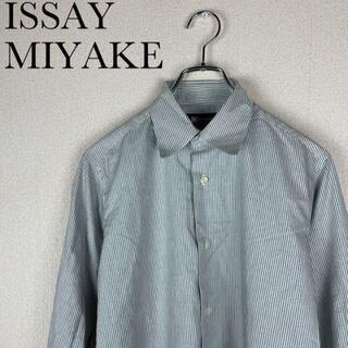 イッセイミヤケ(ISSEY MIYAKE)のISSAY MIYAKE / ストライプ シャツ / クラシック / 古着(シャツ)