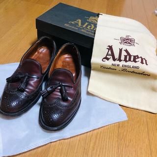 Aldenの革靴