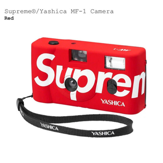 シュプリーム(Supreme)のYashica MF-1 Camera Red カメラ (フィルムカメラ)