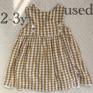 Caramel baby&child  - little cotton clothes ワンピース
