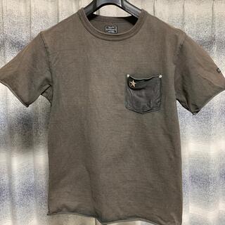 schott - schott  ワンスター レザーポケット Tシャツ
