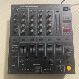 パイオニア(Pioneer)のpioneer DJM500(DJミキサー)