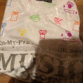 キスマイフットツー(Kis-My-Ft2)のKis-My-Ft2 Tシャツ(アイドルグッズ)