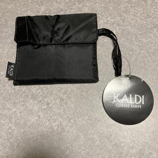 カルディ(KALDI)のカルディ エコバッグ ブラック 未使用(エコバッグ)