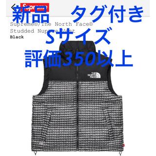 シュプリーム(Supreme)のSupreme North Face Studded Nuptse vest S(ダウンジャケット)