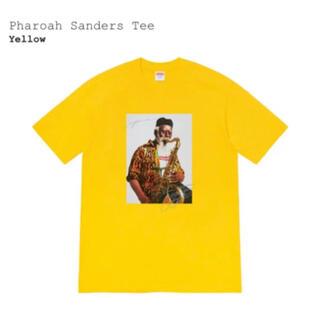 シュプリーム(Supreme)のSupreme Pharoah Sanders Tee S イエロー(Tシャツ/カットソー(半袖/袖なし))
