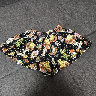 HYSTERIC MINI - HYSTERIC MINI ショートパンツ キュロット スカート 100ブラック