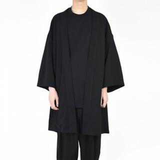 ラッドミュージシャン(LAD MUSICIAN)のlad musician kimono cardigan 黒 サイズ42(カーディガン)