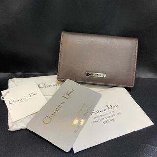 クリスチャンディオール(Christian Dior)の未使用★Christian Diorクリスチャンディオール★カードケース名刺入れ(名刺入れ/定期入れ)