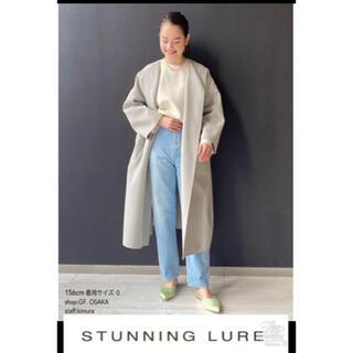 スタニングルアー(STUNNING LURE)の【新品タグ付き】stunning lureスプリングリバーコート ライトカーキ0(スプリングコート)