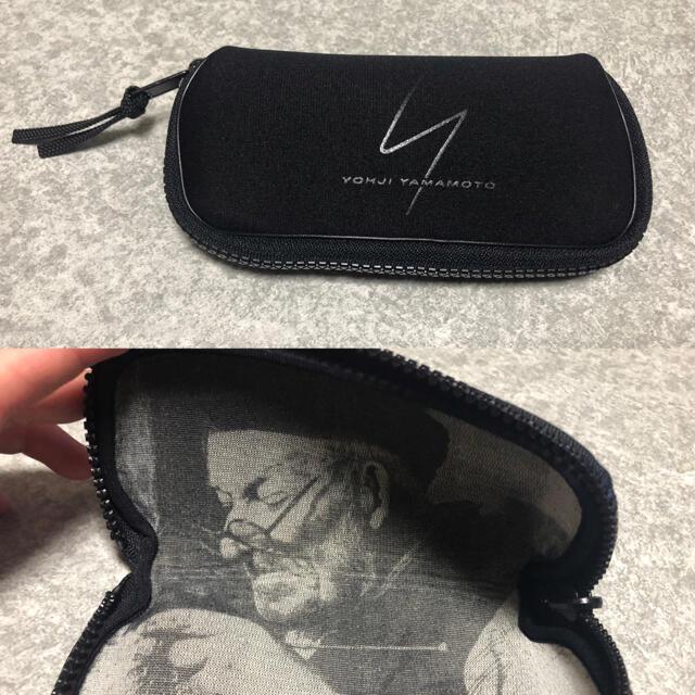 Yohji Yamamoto(ヨウジヤマモト)のYohji Yamamoto ヨウジヤマモト サングラス ケース付き メンズのファッション小物(サングラス/メガネ)の商品写真