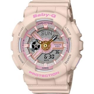 ベビージー(Baby-G)の【新品】BABY-G(ベイビーG)ピカチュウコラボレーションモデル (腕時計)