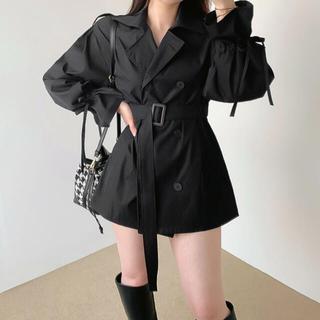 スタイルナンダ(STYLENANDA)の【予約商品】《2カラー》トレンチ ジャケット コート 韓国ファッション 春服(トレンチコート)