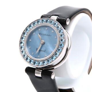 エルメス(Hermes)の【BVLGARI】ブルガリ 時計 'ブルートパーズ' ブルーシェル ☆極美品☆(腕時計)
