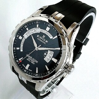 エドックス(EDOX)の新品 激レア★エドックス EDOXグランドオーシャン メンズ腕時計 定価50万円(腕時計(アナログ))