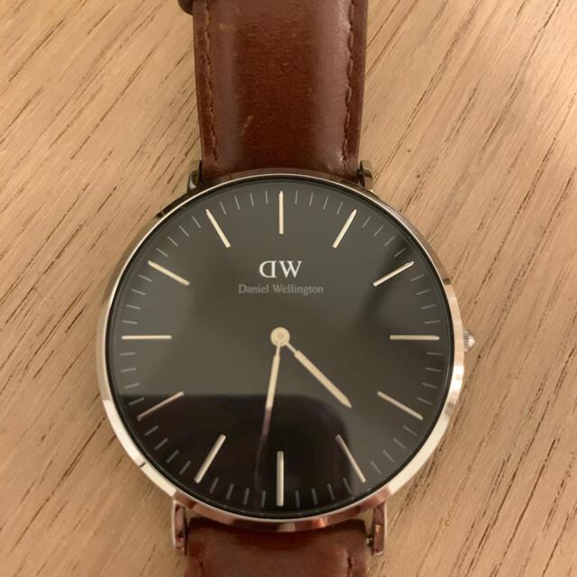 Daniel Wellington(ダニエルウェリントン)の美品作動中ダニエルウェリントン 腕時計 40mm メンズの時計(腕時計(アナログ))の商品写真