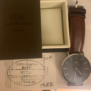 Daniel Wellington - 美品作動中ダニエルウェリントン 腕時計 40mm